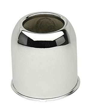 3.19 in Stainless Steel Open End Center Cap for Trailer Rims #106EZSS