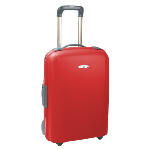 Roncato Medio 2-Wheeled Trolley - 68 x 50 x 30 cm, Red (Rosso)