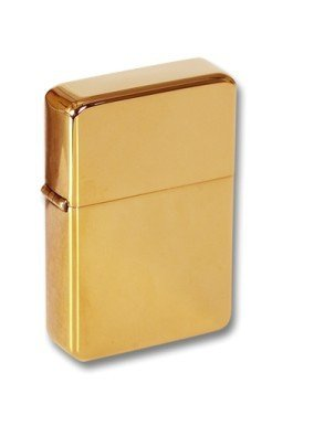 Personalised Gold Petrol Lighter Engraved Free