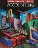 Accounting 18th Edition by Warren, Carl S.; Fess, Philip E.; Reeve, James M. published by South-Western Pub Hardcover