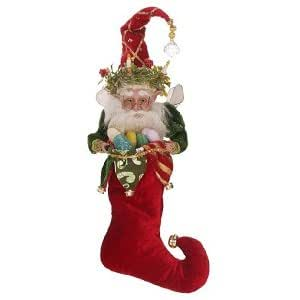 Mark Roberts Christmas Candle Fairy Stocking