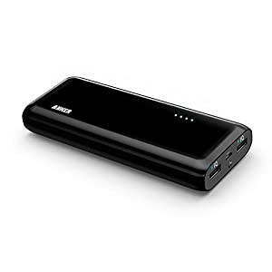 Anker Astro E5 2-Port 1500mAH Portable Charger, Black