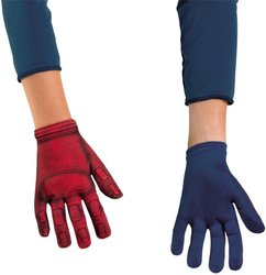 Avengers - Costume Accessory: Captain America Avenger Gloves- Kid (1 pack of 2 items)