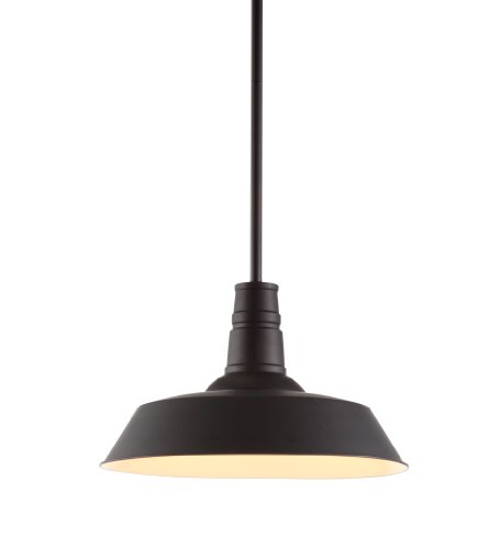 Zuo Modern 98245 Tin Ceiling Lamp, Rust