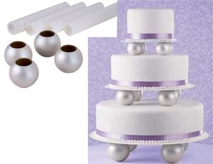 More Picture  sc 1 st  Cake Plates Stands & Cake Plates Stands: Wilton Pillar Set - Globe - 2