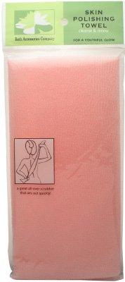 Bath Accessories Skin Polishing Towel, Pink (Skin Polishing compare prices)