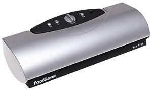 FoodSaver Vac 1200 Vacuum-Sealing Kit, Black & Brushed Chrome