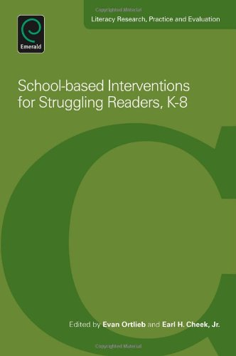 School-Based Interventions For Struggling Readers, K-8 (Literacy Research, Practice And Evaluation)