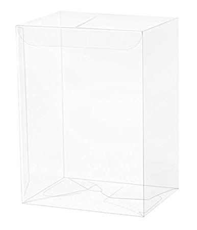 Funko Pop Clear Protector Case for 10cm Vinyl Figures (Pack of 10)