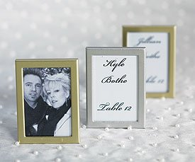 Easel Back Mini Photo Frames - Matte Gold