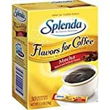 Johnson and Johnson Splenda No Calorie Sweetener, Flavor for Coffee, Mocha, 30 sticks per box -- 6 boxes per case