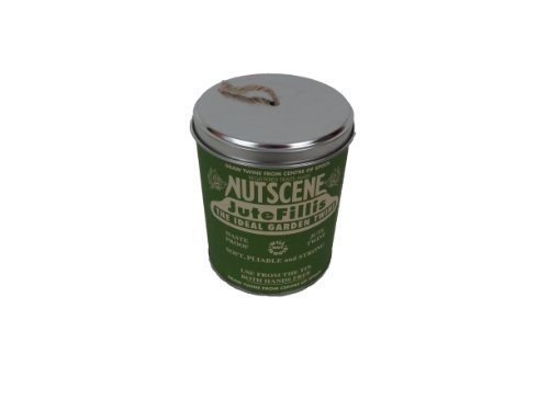 Bosmere K815N Nutscene Tin of Twine, 3-Ply, 492-Feet, Natural