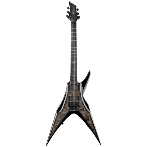 Dbz / Diamond Guitars Bopfm3-Fr-Tc Bird Of Prey Fm Floyd Rose Electric Guitar, Trans Charcoal
