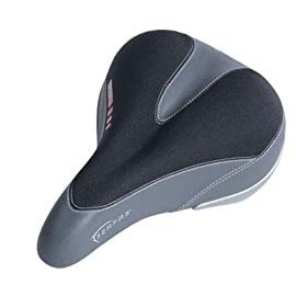Serfas Men's Dual Density Bicycle Saddle - DDM-200