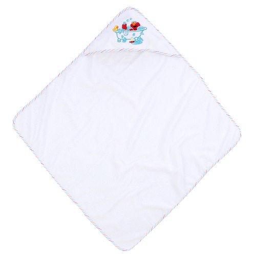 Sesame Street Elmo Hooded Towel