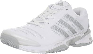 adidas Women's Response Comp Tennis Shoe,Running White/Metallic Silver/Light Onix,5 M US