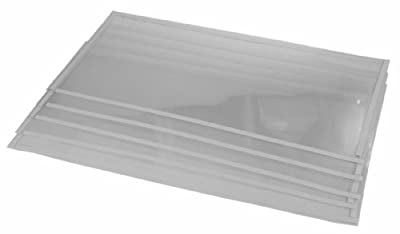 (5) Sand Blaster Window Films fits 260 Gallon Sandblast Cabinet