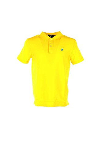 Polo Uomo Beverly Hills Polo Club BHPC1445 Giallo Primavera/Estate Giallo 2xl
