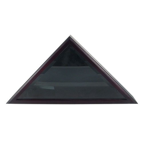 US Flag Store Cadet III Flag Display Case for 3ft x 5ft Flag in Dark Black Cherry finish (Display Case 3x5 compare prices)