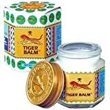 1x30g WHITE TIGER BALM MASSAGE & PAIN RELIEF THAI ORIGINAL