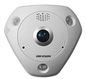 Hikvision 3 Megapixel 360 degree 1.19mm Lens with Audio In/Out with Built in Mic Network IP Security Camera DS-2CD6332FWD-IS