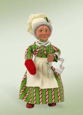 7-kindles-baking-mrs-claus-baker-bendable-poseable-christmas-figure-by-byers-choice