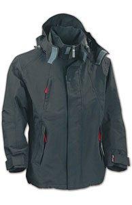 Harvest Mens Powell Shell breathable jacket - Medium, Anthracite