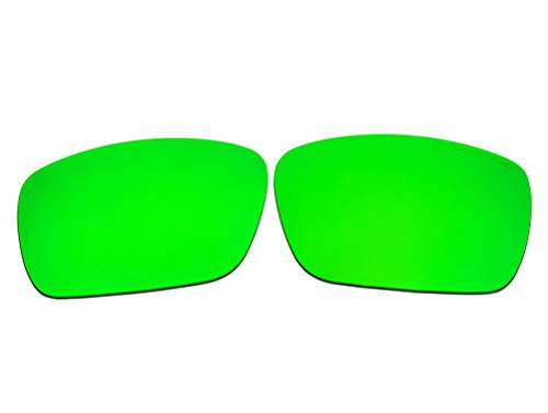 Polarized Replacement Sunglasses Lenses for Oakley Fuel Cell with UV Protection(Emerald Green Mirror) (Fuel Sunglasses compare prices)