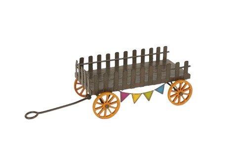 Miniature Fairy Garden Mini Farm Wagon