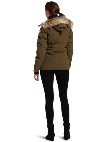 Canada Goose Women's Montebello Parka,Military Green,X-Large