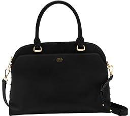 Vince Camuto Mindi Satchel Shoulder Bag, Black, One Size
