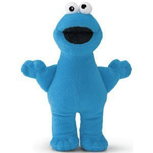 Gund Sesame Street: Finger Puppet Cookie Monster Plush Soft Toy 319688