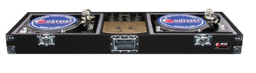 Odyssey CDJ10 Carpeted Dj Coffin With Recessed Latches For A 10 Mixer And 2 Turntables In Standard Position (Coffin Turntable compare prices)