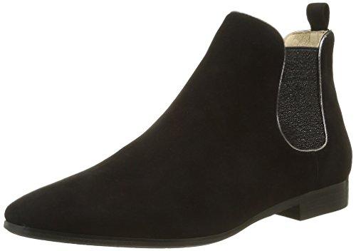 Jb MartinUnity - Stivali Chelsea alla caviglia Donna , Nero (Noir (Ch Velours Noir/T Specio Acier)), 41