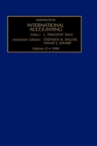 Advances in International Accounting, Volume 12