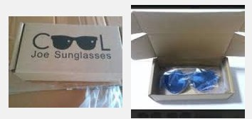 Cool Joe Sunglasses - Blue Sunglasses with Polarized Lens for Vision Comfort.