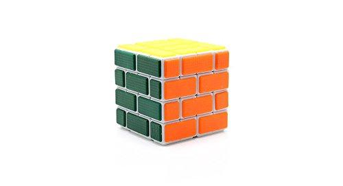 Cube Twist Irregular Bandaged Brain Teaser Magic Wall Cube-White - (Premium Quality)