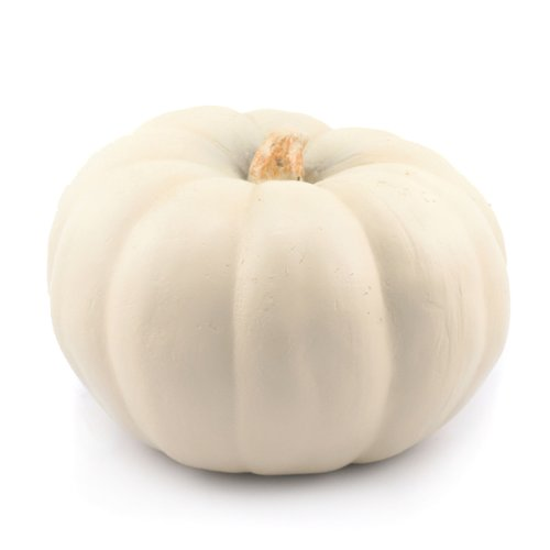 Mr. Light Funkin Artificial Pumpkin, Princess, 8in by 8in by 8in/with Carving Tool
