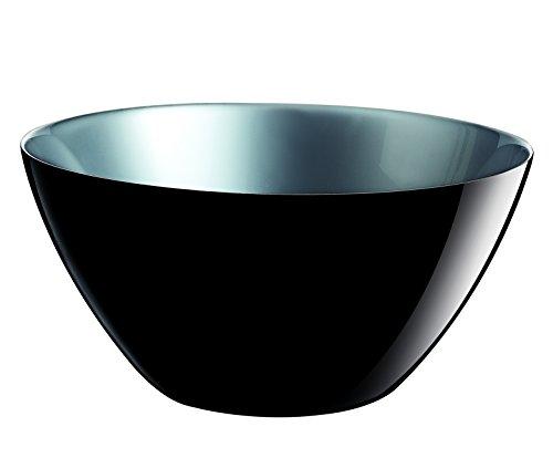 Luminarc 8010023 Flashy Colors Saladier Sodo Coupe à Chaud Noir 23 cm