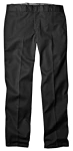 Dickies Men's Original 874 Work Pant, Black, 34x32