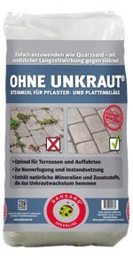Dansand - block paving sand 20kg (narrow (anthracite))