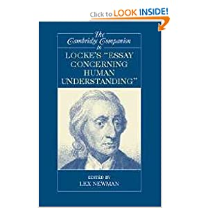 Download The Cambridge Companion to Locke's 'Essay Concerning Human Understanding' (Cambridge Companions to Philosophy) ebook