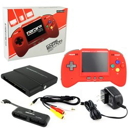 Retro Bit Rdp Portable Handheld Console V2.0: Core Edition - Red front-580996