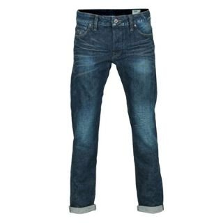 G Star 3301 Low Tapered Mens Jeans Red List Aged 32 L32