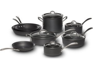 Calphalon 13-pc. Commercial Hard-Anodized Cookware Set by Calphalon