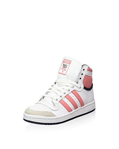 adidas Sneaker Alta ORIGINALS TOP TEN HI J  [Bianco]