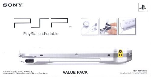PlayStation Portable - PSP Konsole White (Value Pack)