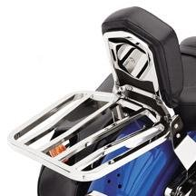 H-D Sport Two-Up Luggage Rack - Chrome