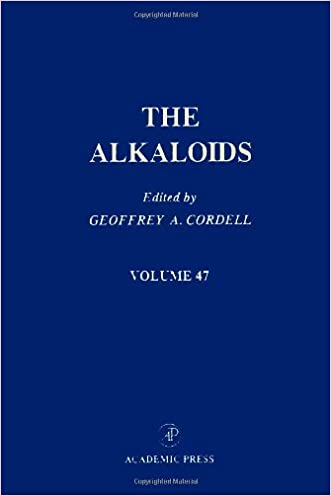 The Alkaloids: Chemistry and Pharmacology, Vol. 47 written by Geoffrey A. Cordell