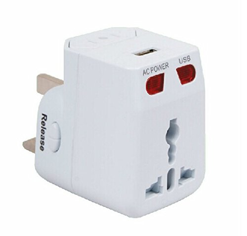 Multifunction Power Converters 2.1A Usba Global Universal Usb Power Adapter Plug Socket Kingdom United States Europe Japan Korea, The Supplied Usb Charging Jack, Android Phones, Iphone, Piod, Pda, Mp3, Bluetooth, Navigation Systems, Digital Cameras, Digit